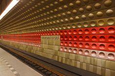 The most impressive underground railway stations in Europe, Staromestska station in Prague