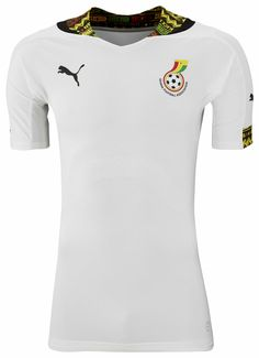 Ghana 2014 World Cup Home and Away Kits released. The new Ghana 2014 World  Cup Kits are made by Puma and features a special design inspired by the  Kente ... b061545bed47b