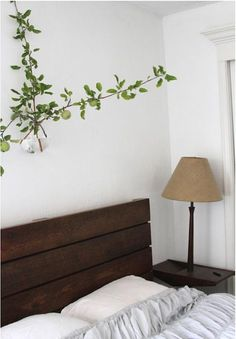 fence. Who doesn't want a branch of glorious fruiting apple in their bedroom?  I recommend for fertility!