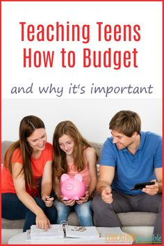 Money management is a life skill that every person needs. Teaching our teens the basics of a budget, sets them up for success. Trust me, it's easier to learn how to budget money before you have multiple obligations, which is why it's important we teach our kids how to manage their money before they head out on their own. #lifeskills #howtobudget #teens #tweens #personalfinance #middleschool #educationpossible #educationpossible