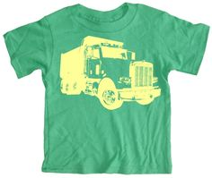 Green and truck.  Perfect!