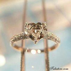 # CHAMPAGNE DIAMOND ENGAGEMENT RING