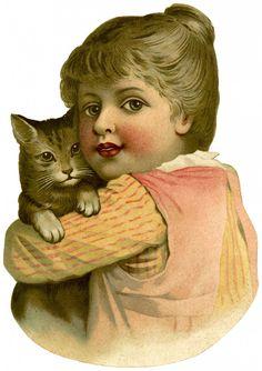 http://thegraphicsfairy.com/wp-content/uploads/2013/10/Vintage-Child-Cat-GraphicsFairy-723x1024.jpg
