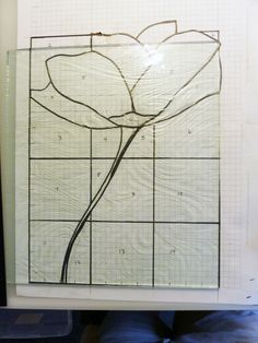Tutorial on making a stained glass piece from start to finish