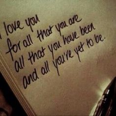 I love you for all that you are love love quotes quotes quote i love you love images love sayings Cute Quotes, Great Quotes, Inspirational Quotes, Wedding Quotes And Sayings, Vows Quotes, Motivational Quotes, Funny Quotes, Cute Love Sayings, Wedding Qoutes