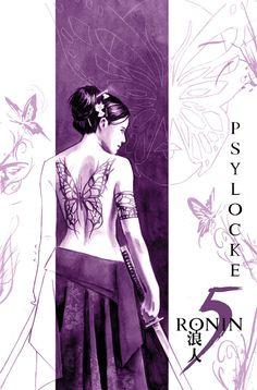 5 Ronin Psylocke - David Aja