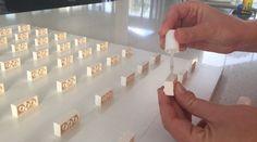 Lego Mini-Figures – display and storage solution DIY LEGO Mini-Fig Board … Lego Display, Lego Minifigure Display, Table Lego Diy, Diy Lego, Lego Minecraft, Minecraft Crafts, Minecraft Skins, Minecraft Buildings, Vitrine Lego
