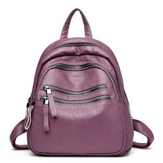 ddd93f7bc97e |Новый рюкзак женский высокое качество из искусственной кожи сумка женская  сумка мульти карман женский рюкзак Mochila Feminina школьные сумки для  подростков ...