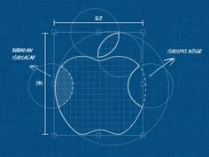Using the blueprint style with a famous image.