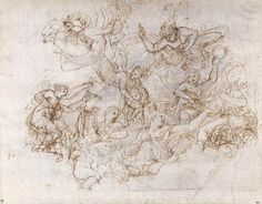 Romano, Giulio (1499-1546) An Allegory of the Virtues of Federico II Gonzaga Date: about 1530