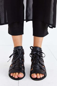 Jeffrey Campbell Diaz Mini-Wedge Sandal