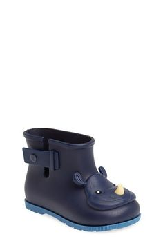 Mini Melissa 'Sugar' Rain Boot (Walker & Toddler) available at #Nordstrom
