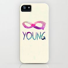 Forever young IPhone 4 Case (: