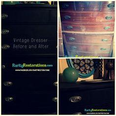 Vintage highboy redo Vintage Dressers, Rarity, Restoration