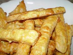 """""""Sajtos is a really good Hungarian cheese stick! The best cheese sticks ever my mom makes these."""""""