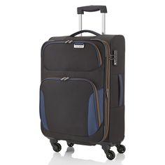 Mittlerer #Koffer travelite Orbit bei Koffermarkt: ✓Farbe: schwarz ✓4 Rollen ✓66x40x25 cm ✓erweiterbares Volumen  ✓leicht