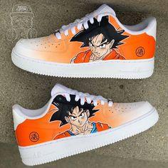 Behind The Scenes By shoutmysneakers Custom Painted Shoes, Custom Vans, Custom Sneakers, Custom Shoes, Mens Vans Shoes, Nike Shoes, Vans Men, Goku, Baskets
