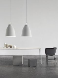 How and Where to Use Pendant Lighting - La Maison Jolie Cecilie Manz Caravaggio pendant