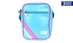 Get 70% #discount on Onitsuka Borsa Mini Crossbody Bag - Blue/Pink #onlinedeals