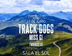"""Check out new work on my @Behance portfolio: """"Track Dogs Poster"""" http://on.be.net/1IfUts7"""