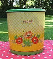 Bread Can England イギリスアンティークフラワー缶、ブレッドビン、HANDIWARE インテリア 雑貨 家具 Antique ¥20000yen 〆06月16日