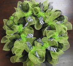 Mesh Wreaths.
