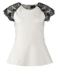 BIKERNA - T-shirts basic - hvid