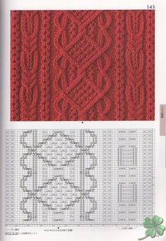 260 Knitting Pattern Book by Hitomi Shida 2016 — Yandex. Cable Knitting Patterns, Knitting Stiches, Knitting Charts, Lace Knitting, Knitting Designs, Knit Patterns, Knitting Projects, Crochet Stitches, Stitch Patterns