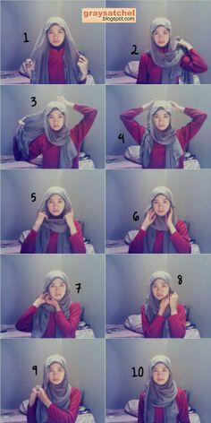Hijab Tutorial : Easy Chic Shawl