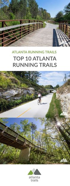 Escape sidewalks and crosswalks on our favorite Atlanta running trails, all within 20 miles of the city. #running #trailrunning #atlanta #georgia #travel #outdoors #trails