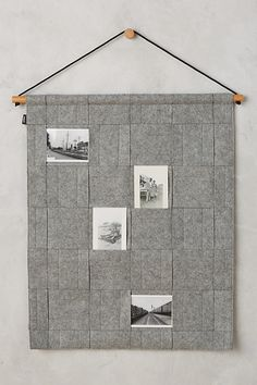 Slide View: 2: Woven Hanging Photo Display