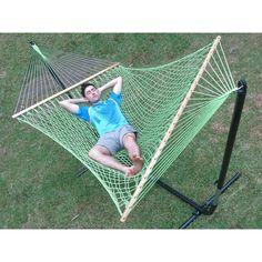 large cotton rope hammock with spreader bar   green   buy hammocks large canvas crochet hammock with tassels in beige   buy hammocks      rh   pinterest