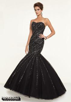 Prom Dresses – Paparazzi Prom Dress Style 97147 Strapless Prom Dresses 723c8258216c