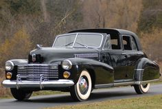 One of two built, 1941 Cadillac Series 60 Special Town Car by Derham, originally owned by Bette Davis