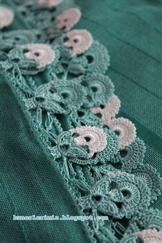 So pretty! Unfortunatelly I couldn't find the diagram. turkish #oya #crochet #lace
