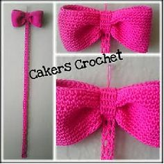 This pattern is an easy pattern that has no strict gauge. It works up very quickly and would make a great last minute gift. You can use this pattern to create a Bow Holder in the yarn of your choice.