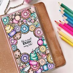 17 Donut bullet journal layout and spread ideas - Bullet Journal Inspiration - Sweet Bullet Journal Format, Bullet Journal Writing, Bullet Journal Ideas Pages, Bullet Journal Inspiration, Bujo Inspiration, Cute Doodle Art, Doodle Art Designs, Doodle Art Drawing, Drawing Quotes