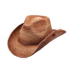 Peter Grimm Hats Brown Jules Cowboy Hat ( 33) ❤ liked on Polyvore featuring  accessories 02939e0afd13