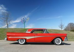 A Brief History Of Ford Trucks – Best Worst Car Insurance Car Ford, Ford Trucks, Ford Lincoln Mercury, Ford Classic Cars, Ford Fairlane, Old Fords, Car Insurance, Hot Cars, Vintage Cars
