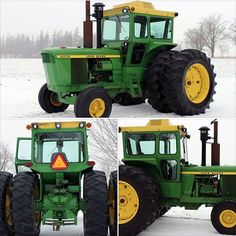 They can keep the snow, but I'll take the tractor! Check out this 1976 John Deere 6030! This workhorse will be offered as Lot F52 at the #GoneFarmin #SpringClassic