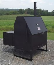 Another interesting design to potentially borrow from. Barbecue Restaurant, Restaurant Ideas, Portable Smoker, Custom Bbq Grills, Smoker Designs, Grill Accessories, Grill Master, Smoking Meat, Fire Pits
