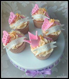 Fairy cupcakes - dollybird bakes.