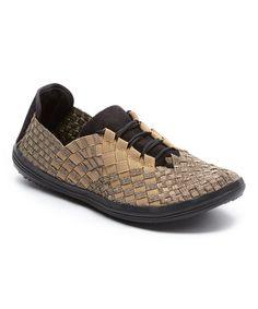Loving this Bronze Aragony Stretch Slip-On Sneaker on #zulily! #zulilyfinds