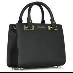 """Michael Kors Small  Quinn Brand new Michael Kors Small Quinn Patent Saffiano Leather Satchel. Silver tone hardware. 10""""W x 7.5""""H x 4.25""""D. 4"""" drop. 22""""-25"""" adjustable strap. Interior one zip pocket and one open pocket. Top zip fastening. Michael Kors Bags Satchels"""