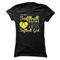 Softballs Mom Limited Edition  - personalized t shirts #tshirt with sayings #tshirt template