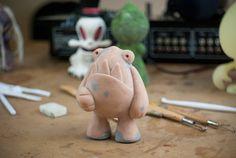 Prototipo del primer Toy: Zuby McField #undesignertoyartesanal