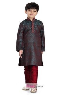 39d5b9e35dce 38 Best Boys Kurta Pyjamas at indiansfashion images