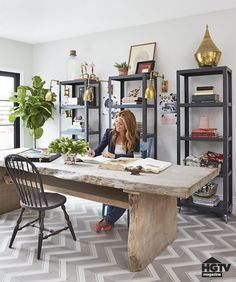 A Multipurpose Dining Room Home Office DesignOffice