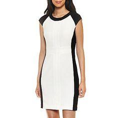 Worthington® Color Block One Piece Dresses - jcpenney $35