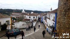 Las encantadoras calles del #pueblo #medieval de #Óbidos a unas horas de la capital #portuguesa #portugalovers #portugal #portugal_de_sonho #portugal #portugal_em_fotos #portugalalive #portugalemclicks #portugalframes
